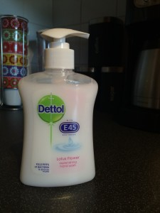 Dettol with E45