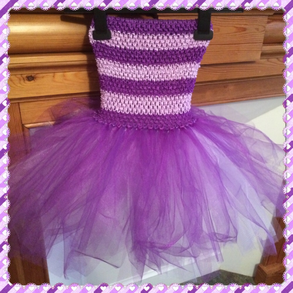 No Sew Tutu Dress